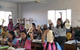 SunnyCottonShines at Wat Don Chan School