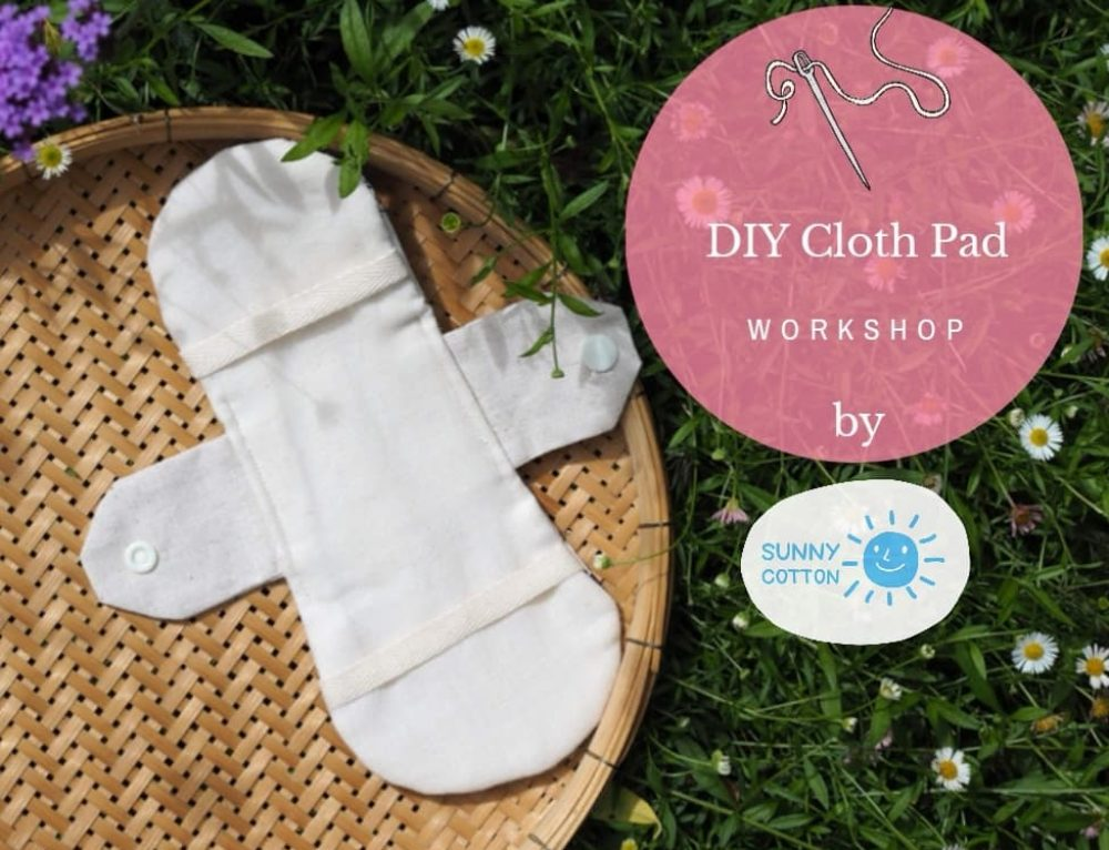 DIY Cloth Pad Workshop at CONNECT FEST (20-21 July 2019 @Museum Siam)